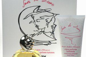 Die Serie der Kosmetika von Sisley: Körpercreme, Parfümwasser, Duschgel